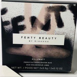 Fenty Beauty Makeup - FENTY BEAUTY BNIB Killawatt Highlighter Duo